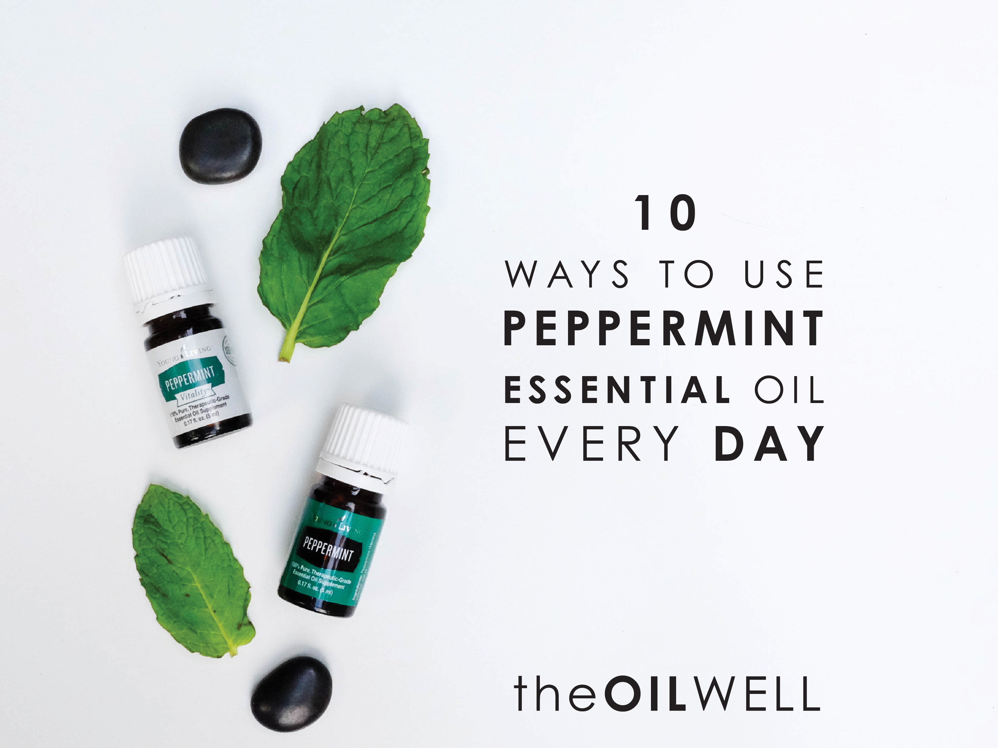 10 Common Uses for Peppermint Essential Oil