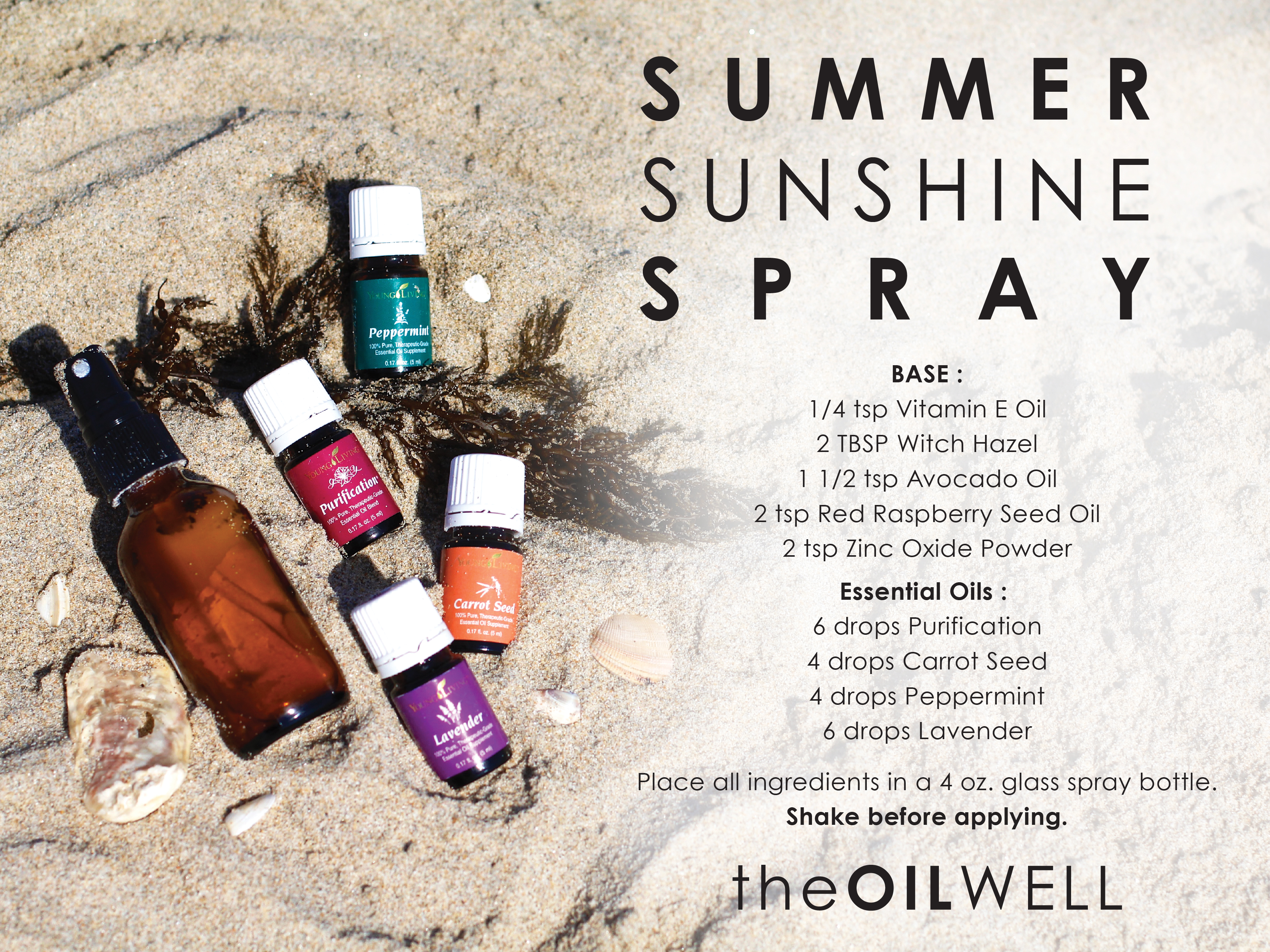 Summer Sunshine Spray with Natural SPF